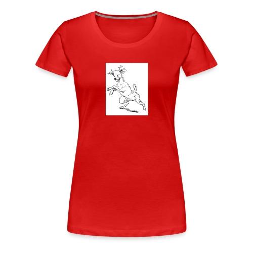 woof - Women's Premium T-Shirt