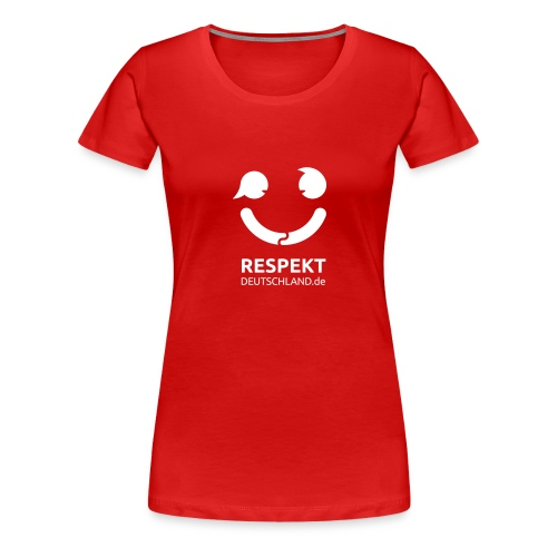 Logo Respekt Deutschland - Frauen Premium T-Shirt