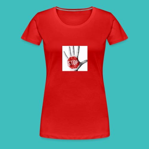 w1cE93O3 - Dame premium T-shirt