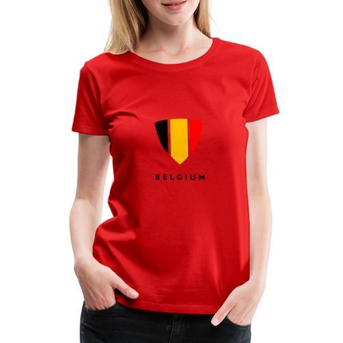 Bouclier de Belgique 2021 - T-shirt Premium Femme