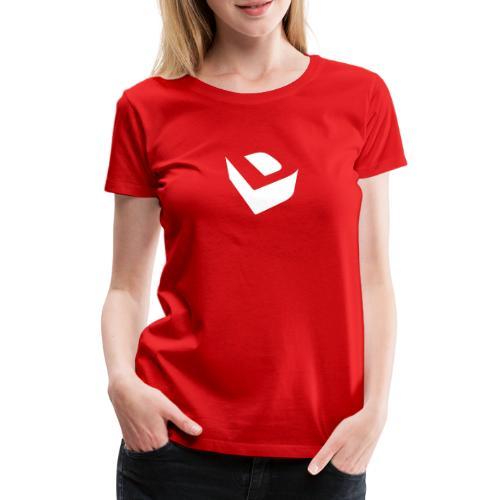 Extruded D (white) - Women's Premium T-Shirt