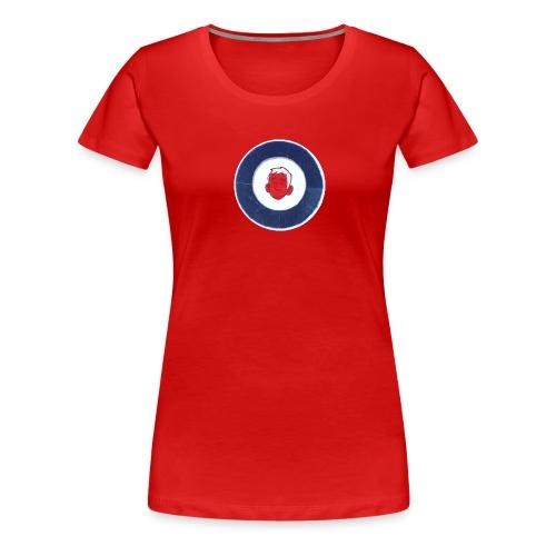 FM logo spreadshirt tshirt png - Women's Premium T-Shirt
