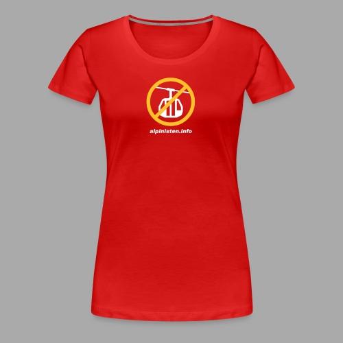 gondel url - Frauen Premium T-Shirt