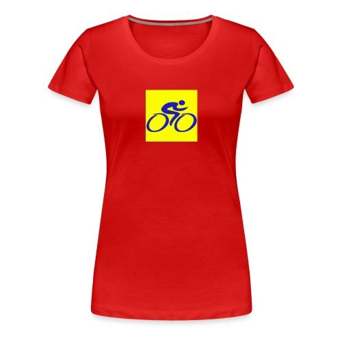 Tour de Epe Logo 2017 2018 1 png - Vrouwen Premium T-shirt