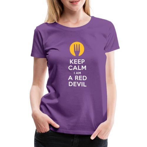 keep calm Belgique - Belgium - Belgie - T-shirt Premium Femme