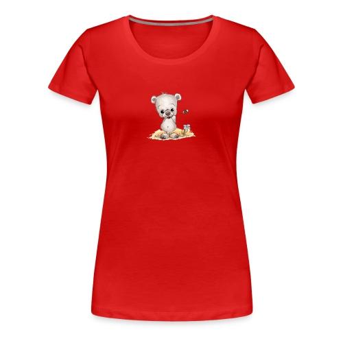 Noah der kleine Bär - Frauen Premium T-Shirt
