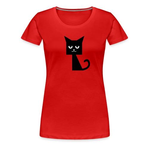 thesquarecat2016 2 png - Frauen Premium T-Shirt