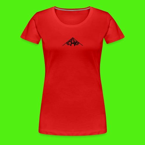 PAW Logo - Women's Premium T-Shirt