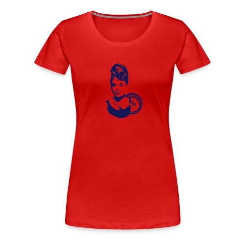 audrey flock - Women's Premium T-Shirt