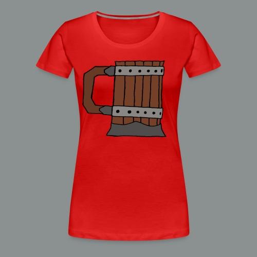 chope, peinte, bière, taverne, geek, jeu de rôle - T-shirt Premium Femme