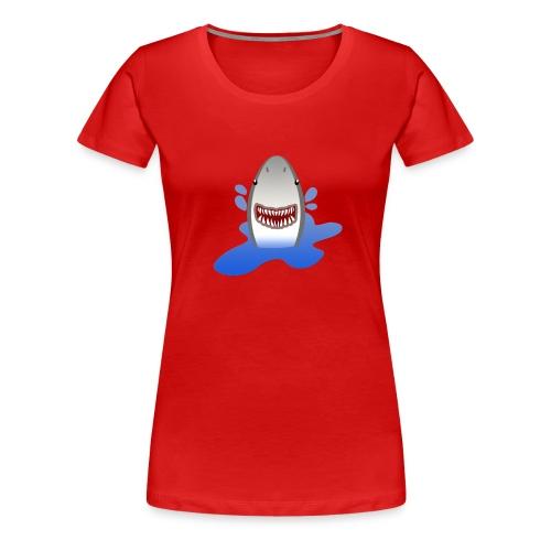 shark - T-shirt Premium Femme