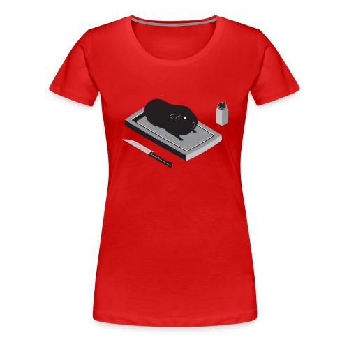 cavia1 groot grijs - Vrouwen Premium T-shirt