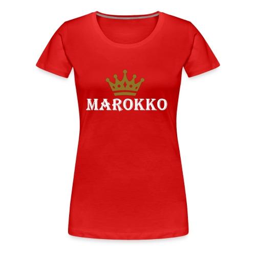 Marokko - Frauen Premium T-Shirt