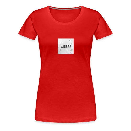 DyZe_WhispZ RED Shirt - Women's Premium T-Shirt