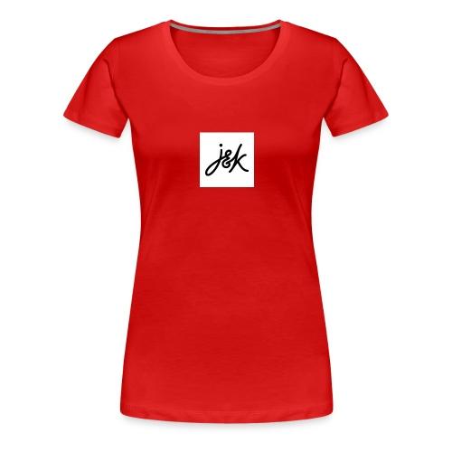 J K - Women's Premium T-Shirt