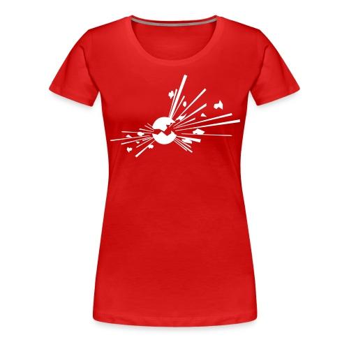 Räjähde - Naisten premium t-paita