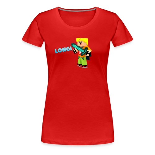 Kämpfender Longi Shirts - Frauen Premium T-Shirt