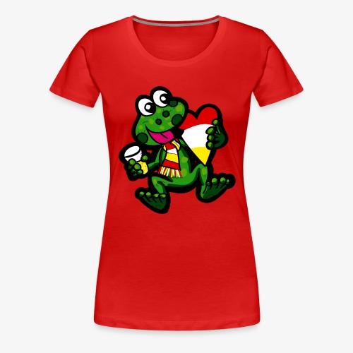 Oeteldonk Kikker - Vrouwen Premium T-shirt