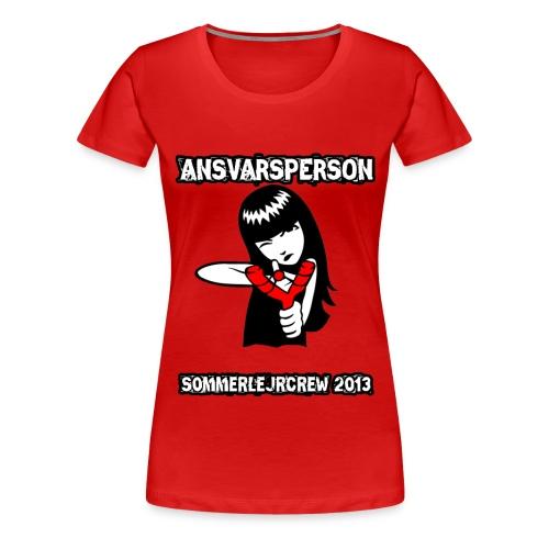 sommerlejrcrew - Dame premium T-shirt
