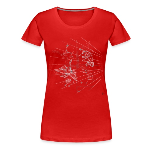 constellation def - Women's Premium T-Shirt