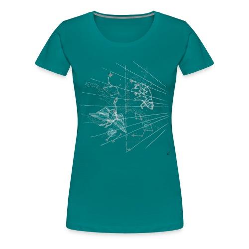 constellation def - Women's Premium T-Shirt