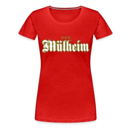 Mülheim (kölsches Veedel) - Frauen Premium T-Shirt