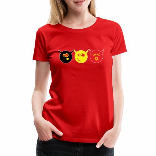 Belgium - Vrouwen Premium T-shirt