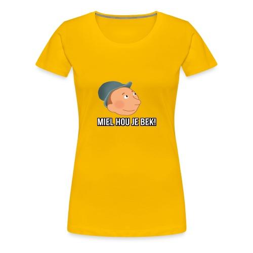 mielwiljealsjeblieftjemonddankjewelnamensrick - Vrouwen Premium T-shirt