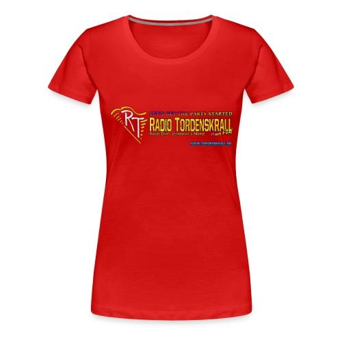 partystarted tordenskrall png - Premium T-skjorte for kvinner