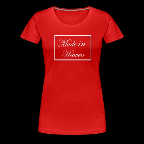 Made in Heaven Logo - Women's Premium T-Shirt
