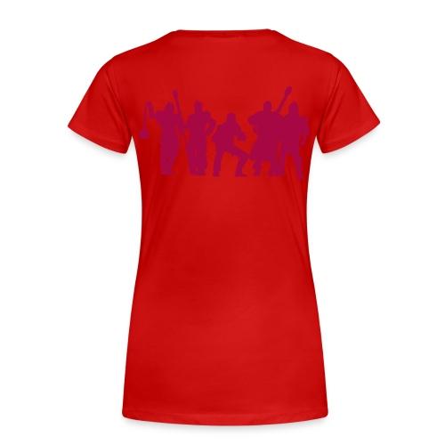 Jugger Schattenspieler rot - Frauen Premium T-Shirt