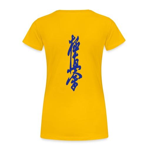 KyokuShin - Vrouwen Premium T-shirt