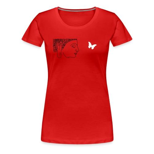 budha et papillon - T-shirt Premium Femme