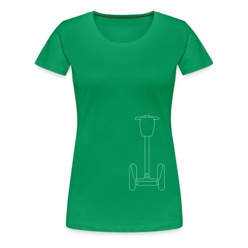 Segway i2 mit Tasche - Frauen Premium T-Shirt