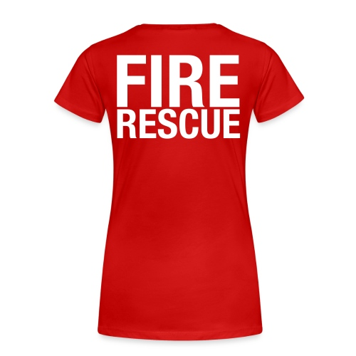 Fire and Rescue - Women's Premium T-Shirt