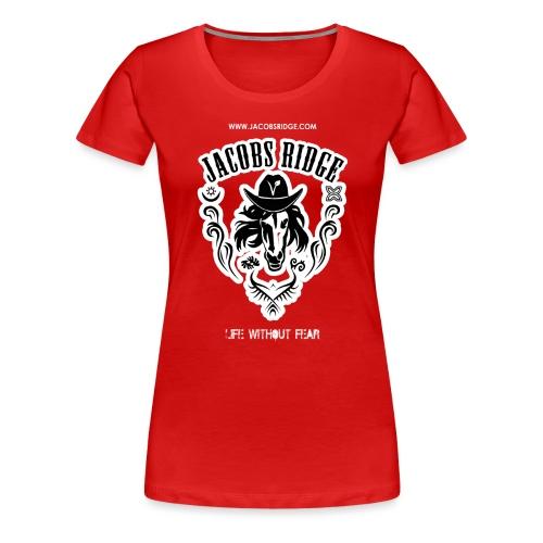 t shirt back - Women's Premium T-Shirt