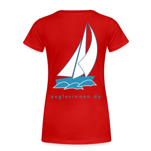 Seglerinnen 3c - Frauen Premium T-Shirt