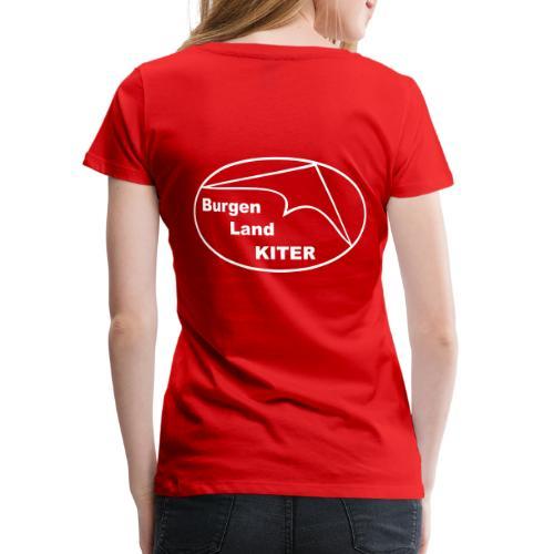KITER LOGO BLK - Frauen Premium T-Shirt