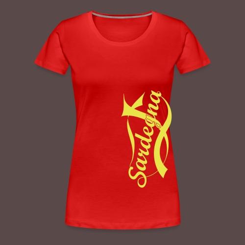 Sardegna USA - Maglietta Premium da donna