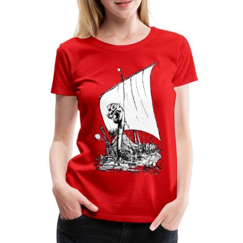 NORMANDIE 2011 DESSIN - T-shirt Premium Femme