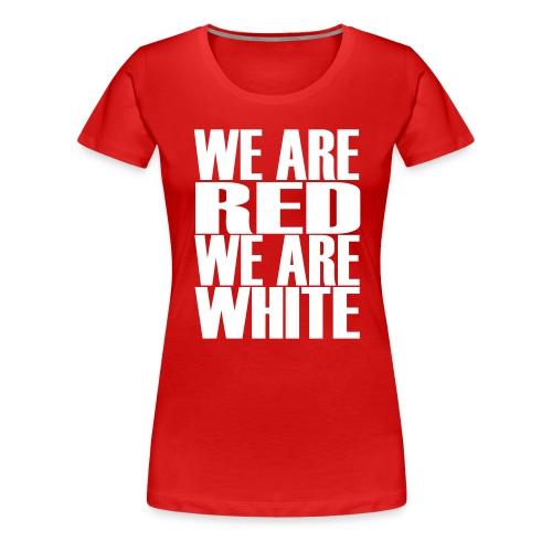 wearered - Dame premium T-shirt