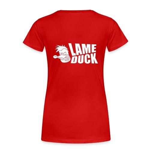 ldlogowhite - Women's Premium T-Shirt