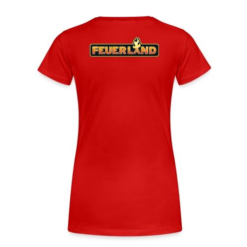 shirt feuerland logo - Frauen Premium T-Shirt