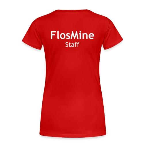 Staff logo - Naisten premium t-paita