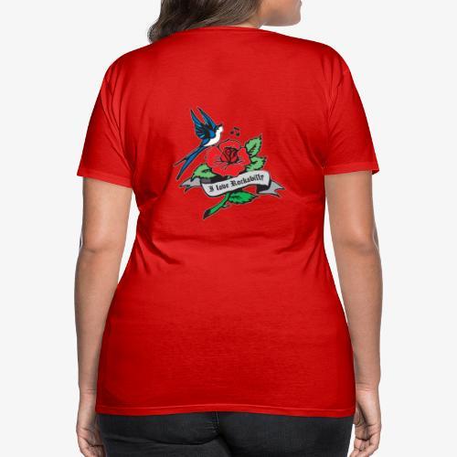 rockabilly tattoo retro patjila - Women's Premium T-Shirt