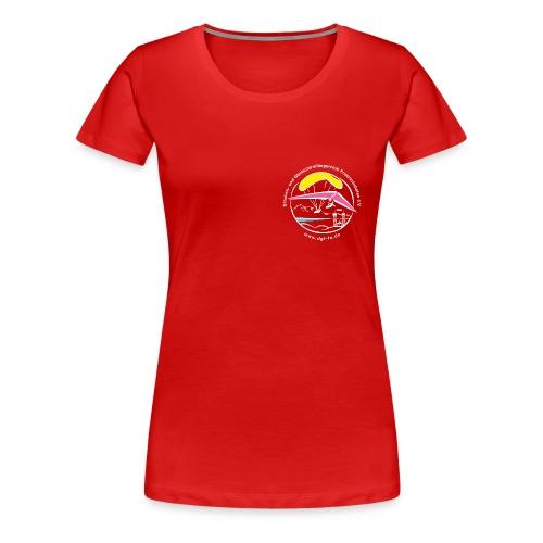 LOGO-DGF-FN HG schwarz tr - Frauen Premium T-Shirt