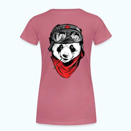 Panda pilot - Women's Premium T-Shirt