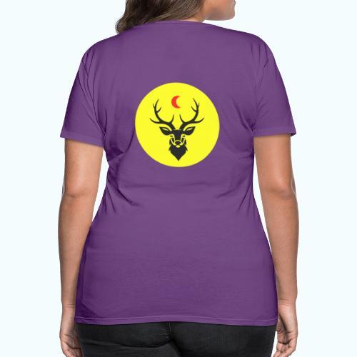 Hipster deer - Women's Premium T-Shirt