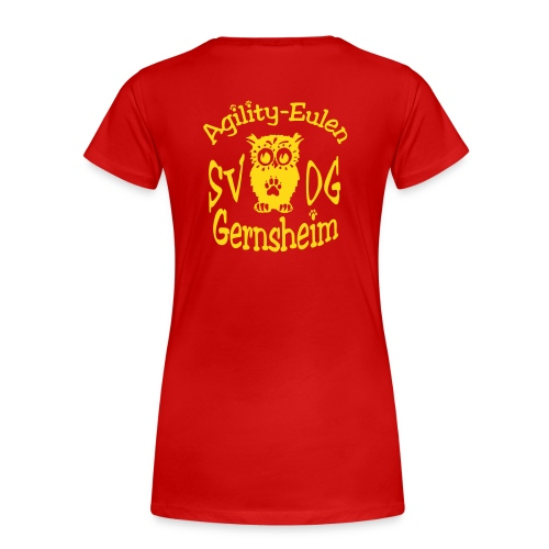 agilityeulen - Frauen Premium T-Shirt