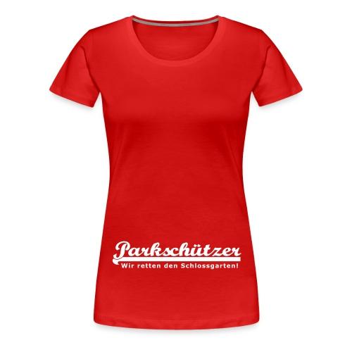 PS Schriftzug 30cm - Frauen Premium T-Shirt